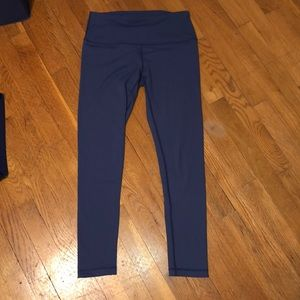 90 degree by REFLEX blue workout leggings
